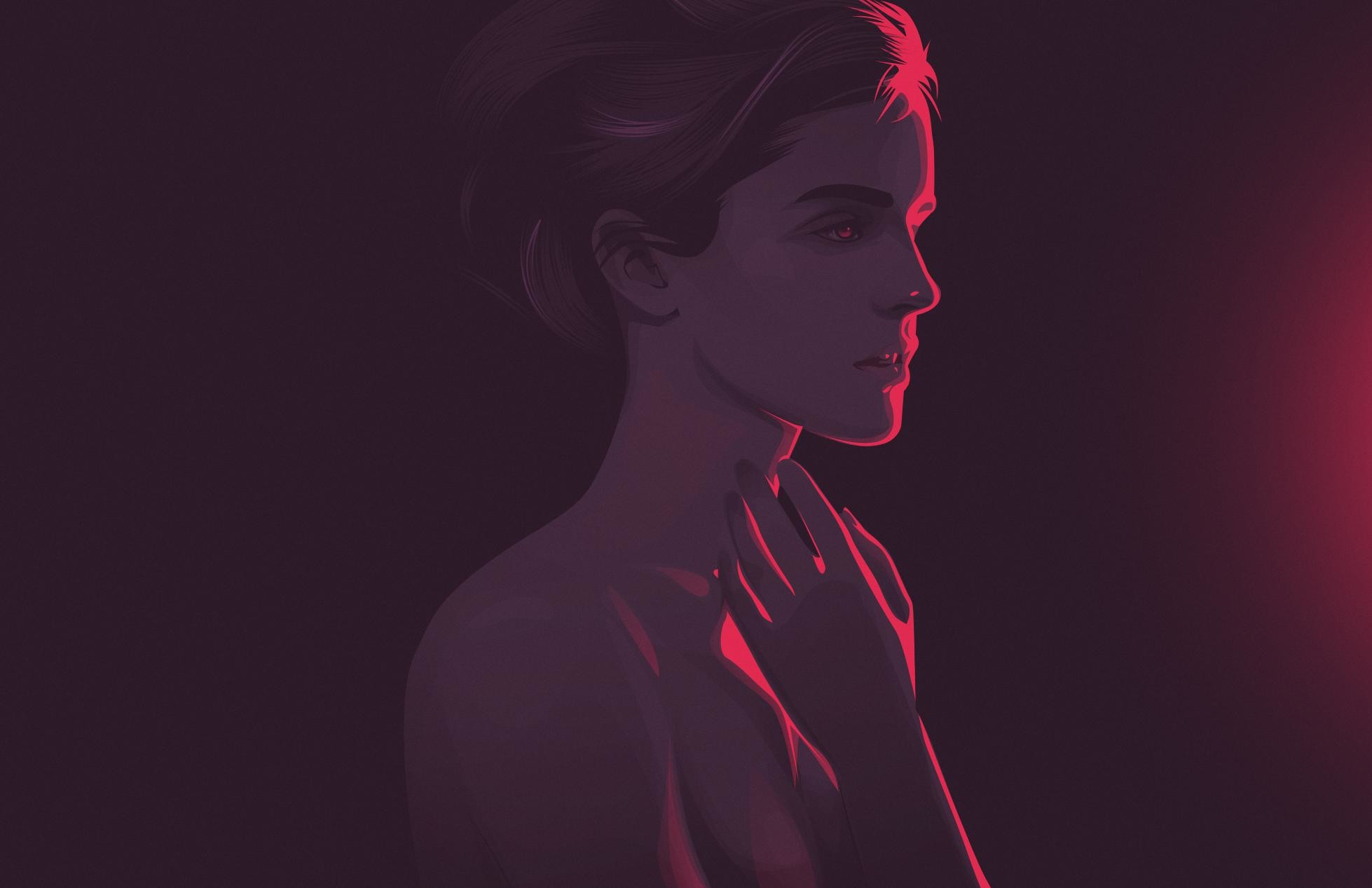 Wallpaper 3440x1440 Girl Synthwave Wallpaper 80 Images
