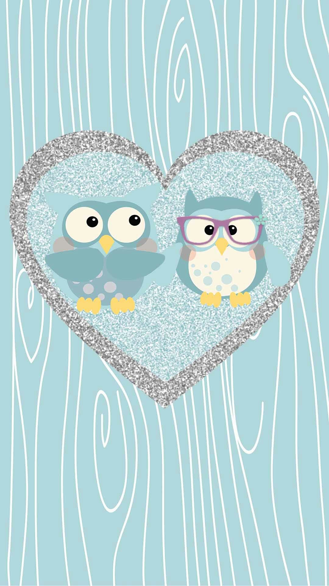 Galaxy S5 Fall Wallpaper Cute Cartoon Owl Wallpaper 54 Images