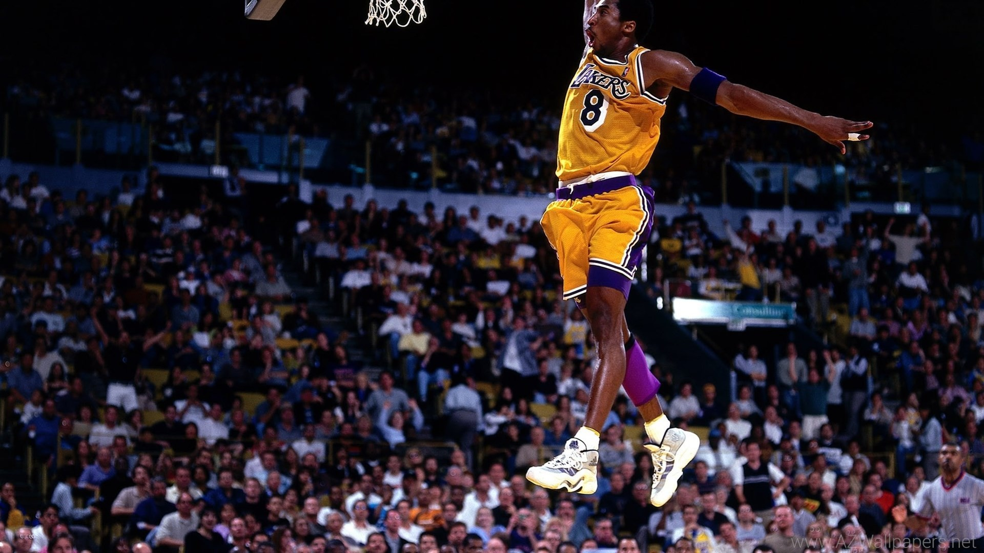 Lebron James Iphone Wallpaper Kobe Bryant Dunk Wallpaper 70 Images
