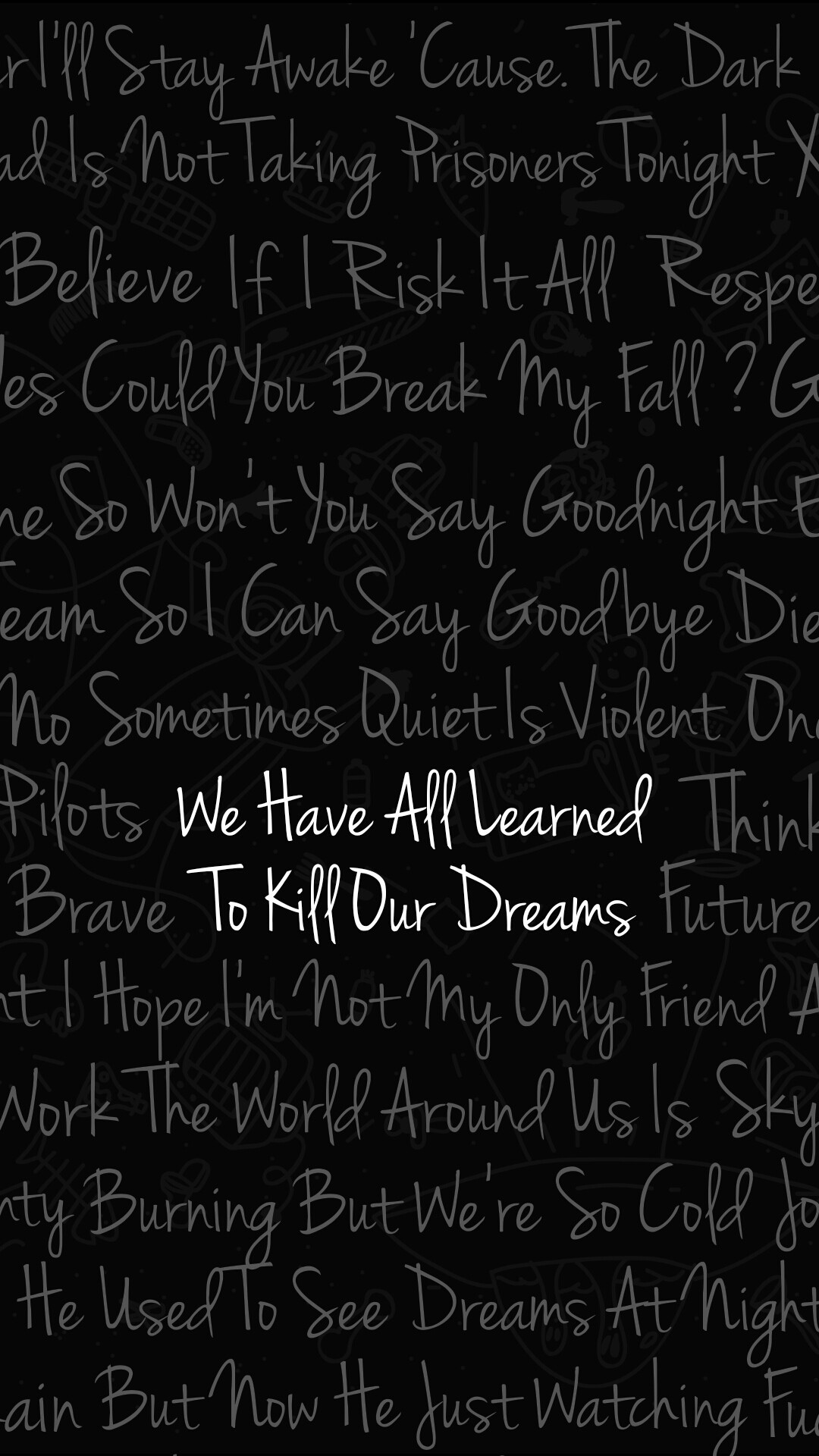 Quotes From The Yellow Wallpaper About Depression Twenty One Pilots Lyrics Wallpaper 89 Images