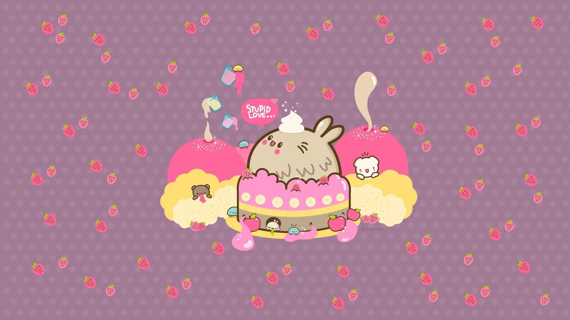 Cute Kitty Wallpapers Download Kawaii Wallpaper 75 Images