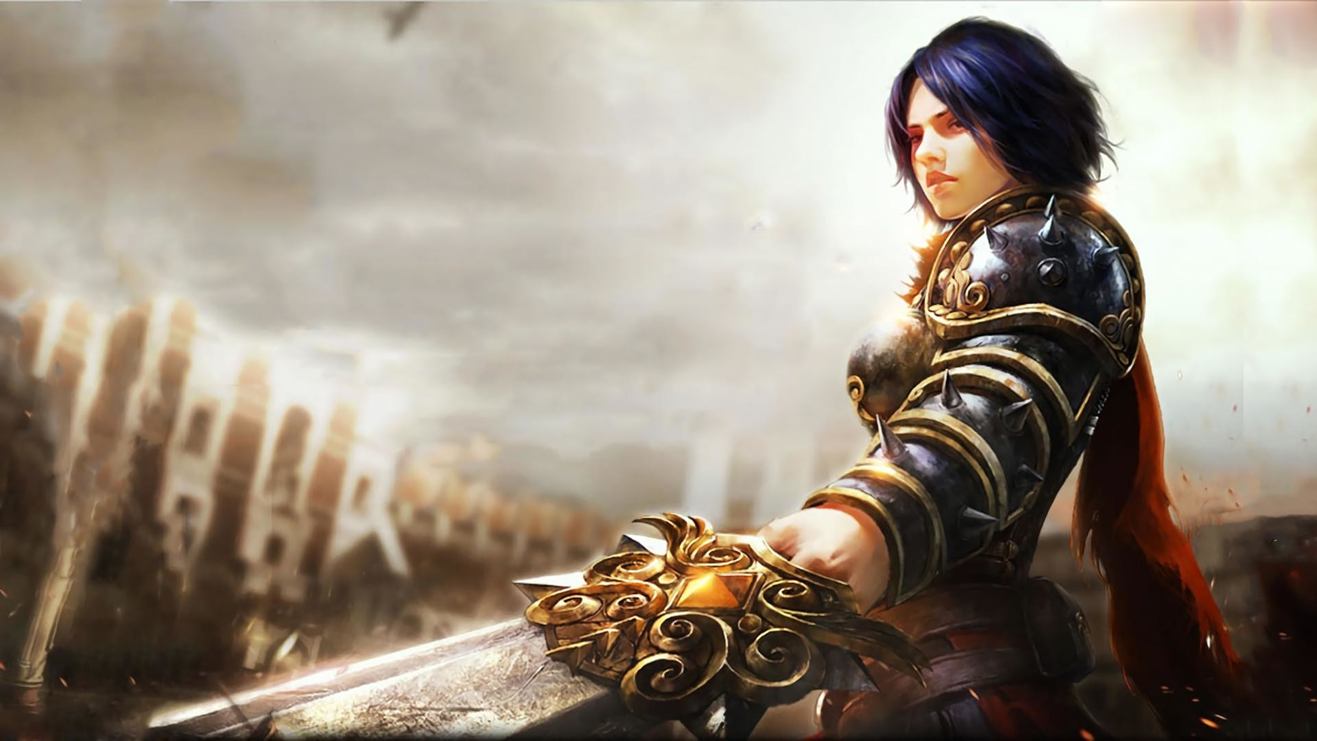 Imgur Anime Wallpaper Hd Girl Smite Wallpapers 1920x1080 91 Images
