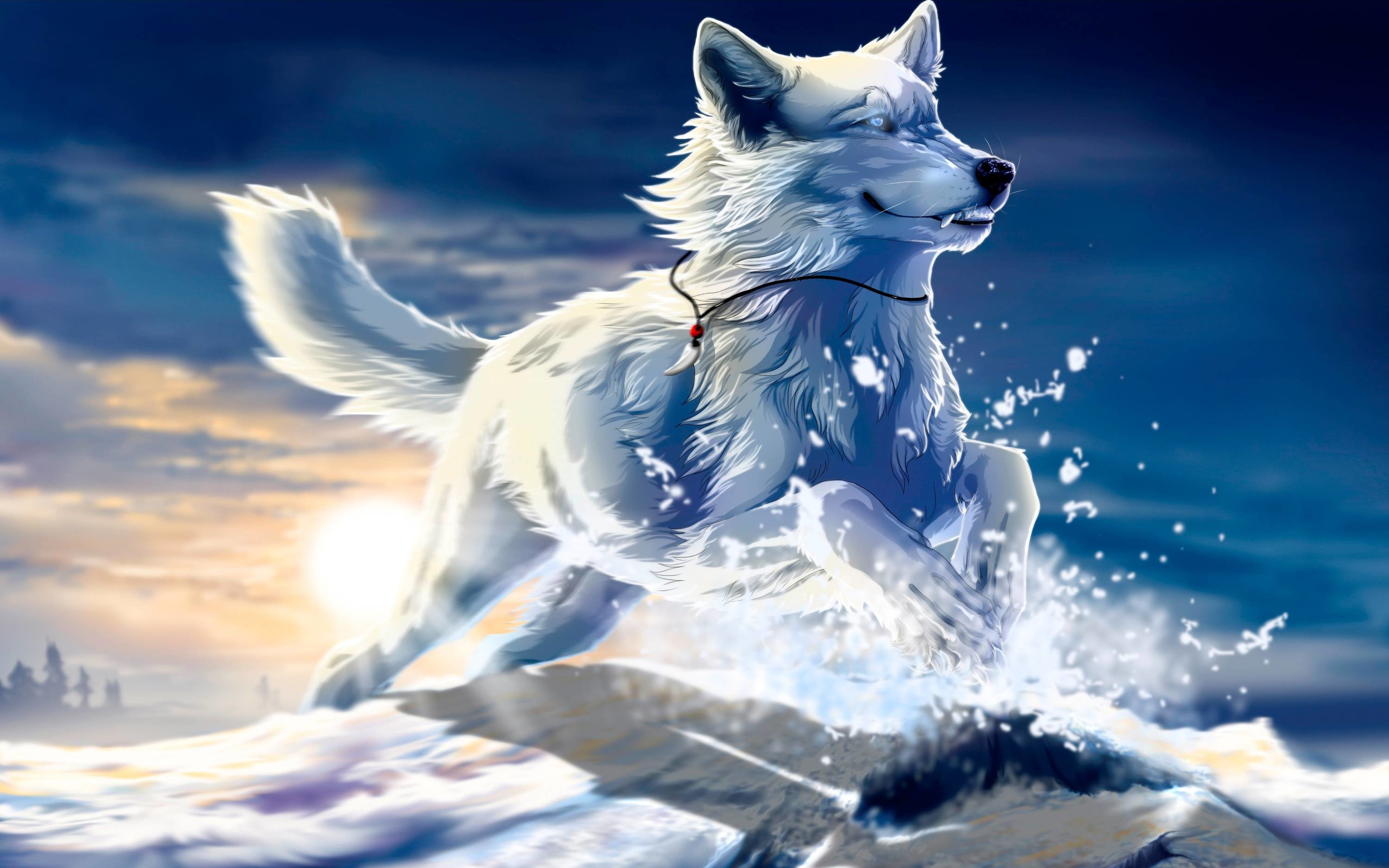 Coole Wolf Bilder Cool Anime Wolf Wallpapers 56 43 Images