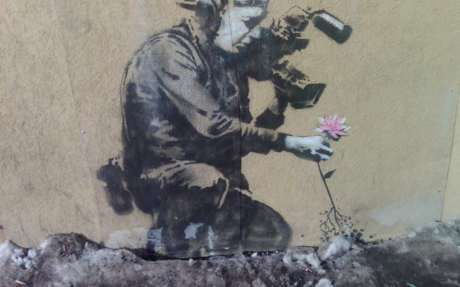 Best Girl Wallpapers Ever Banksy Wallpaper 1920x1080 73 Images