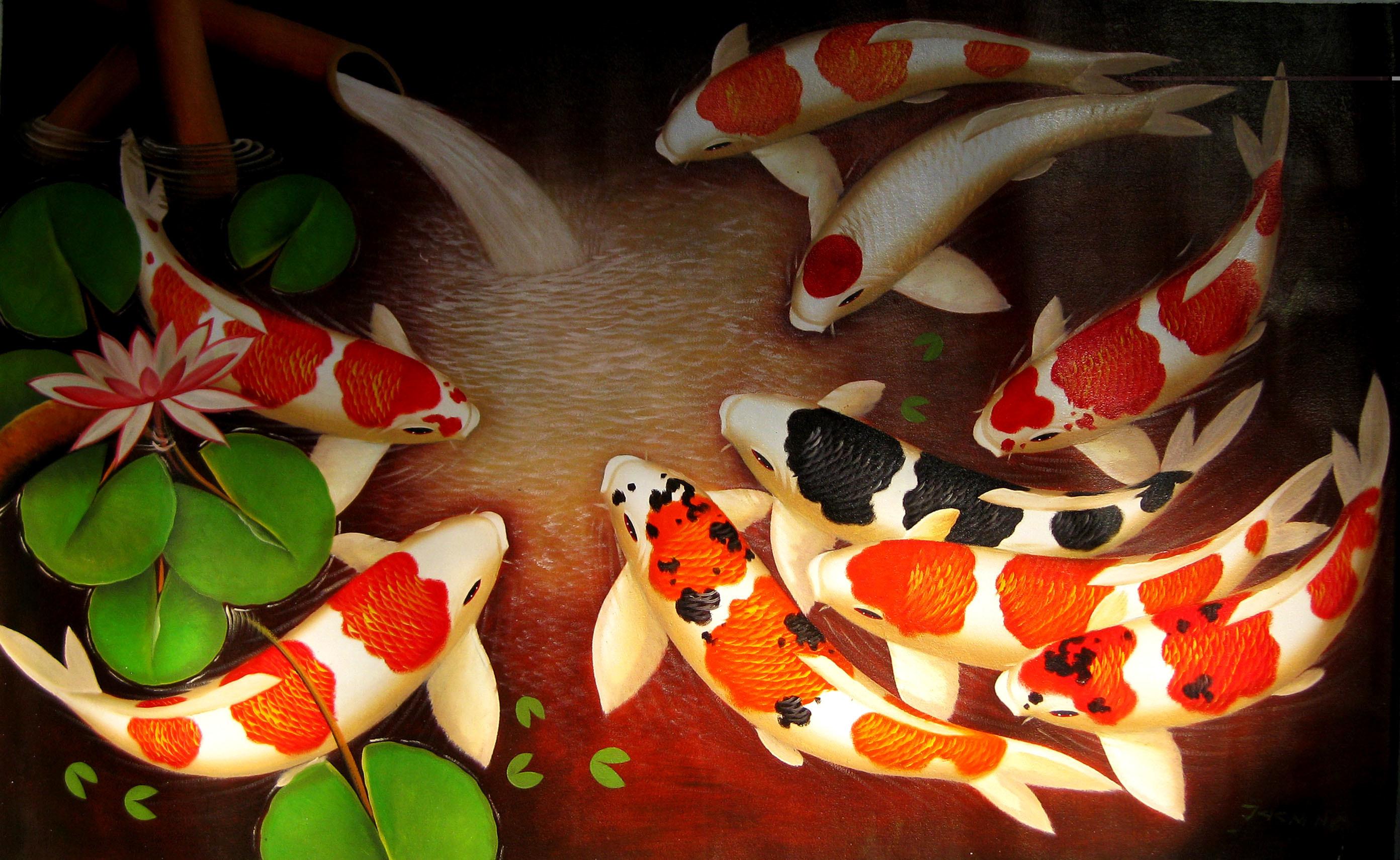 Koi Fish 3d Wallpaper Free Download Koi Fish Wallpaper 59 Images