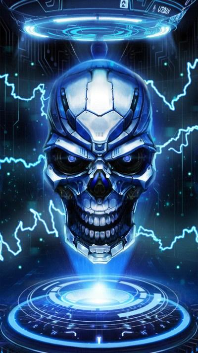 Blue Skull Wallpaper (59+ images)