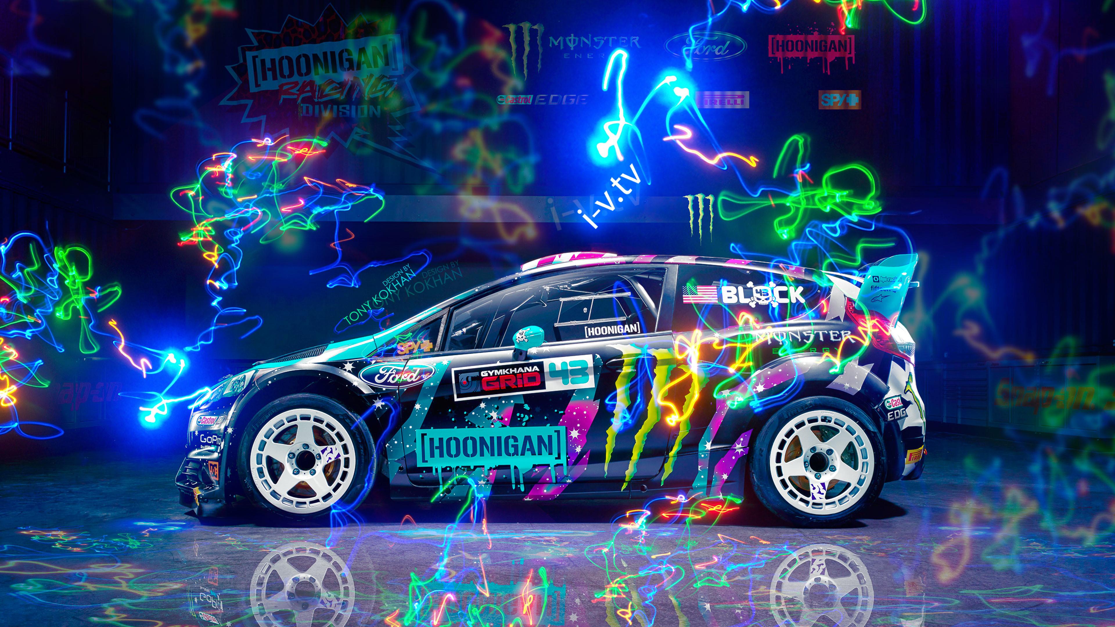 3d Neon Desktop Wallpapers Hoonigan Wallpapers 76 Images