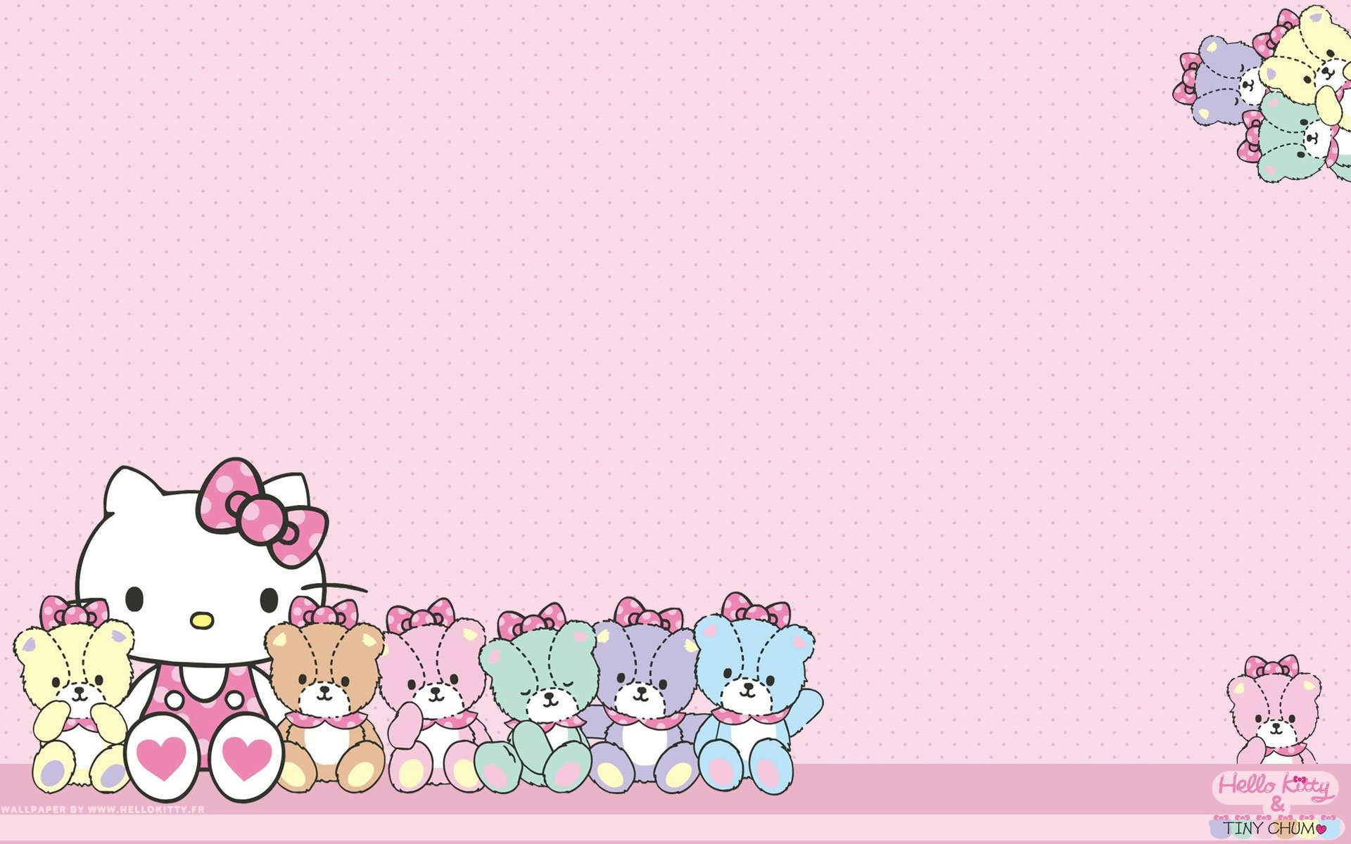 Cute Hello Kitty Wallpaper Pink Hello Kitty Background 64 Images