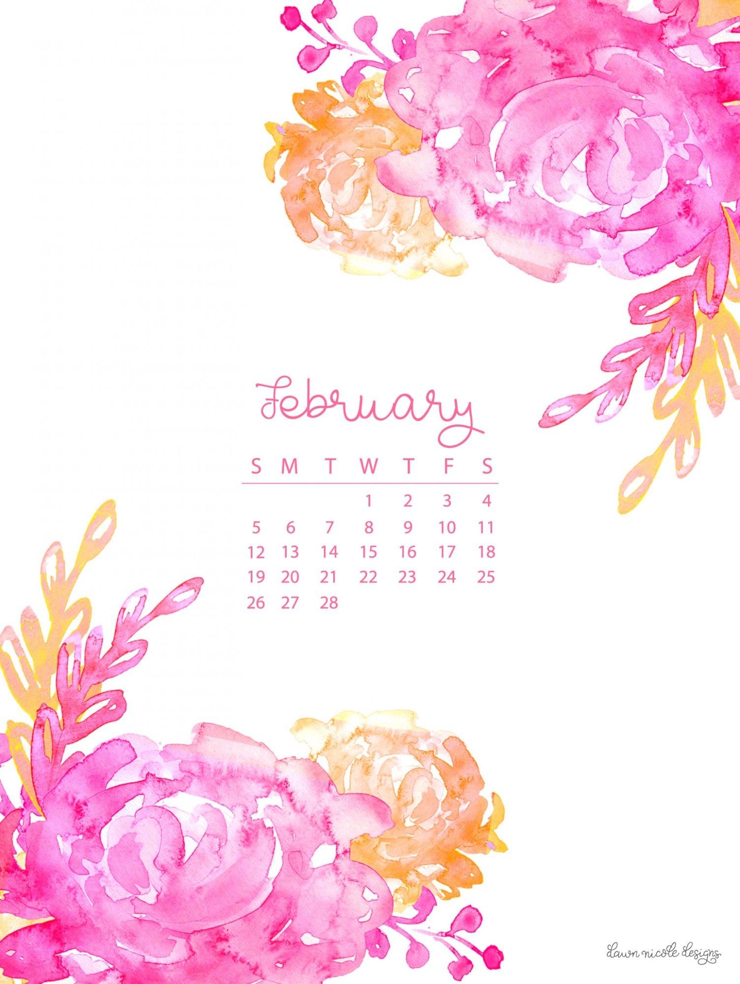 March 2018 Cute Full Screen Desktop Wallpapers February 2018 Wallpaper Calendar 63 Images