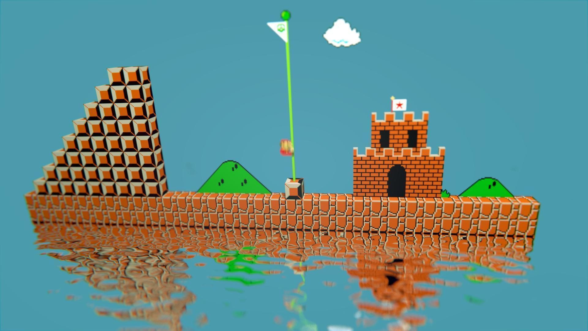 How To Get Old Iphone Wallpapers Back 8 Bit Mario Wallpaper 70 Images