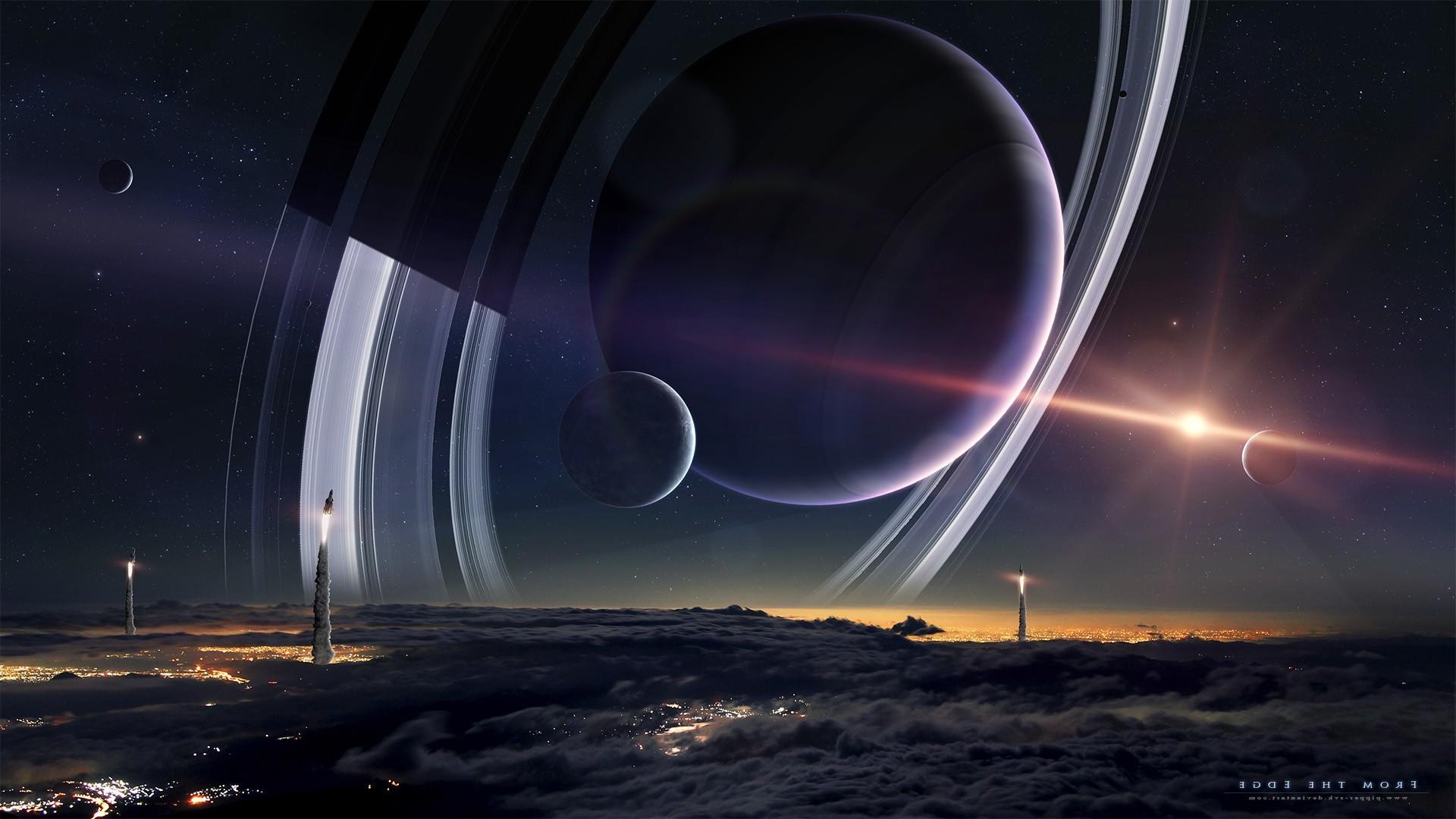 Alien Planet Windows 7 3d Wallpaper Space Planet Wallpapers 76 Images