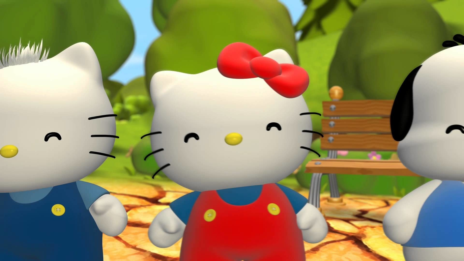 Wallpapers Hd Hello Kitty Hello Kitty And Friends Wallpaper 57 Images