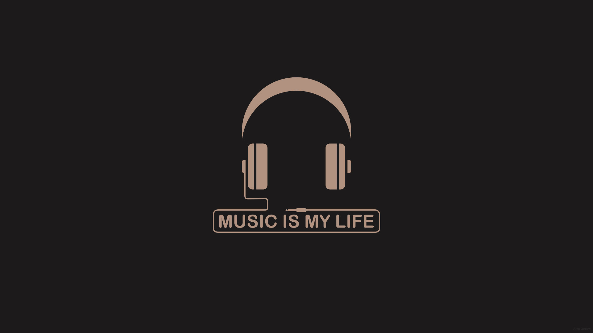 Minimalist Quote Wallpaper Music Is My Life Wallpaper 71 Images