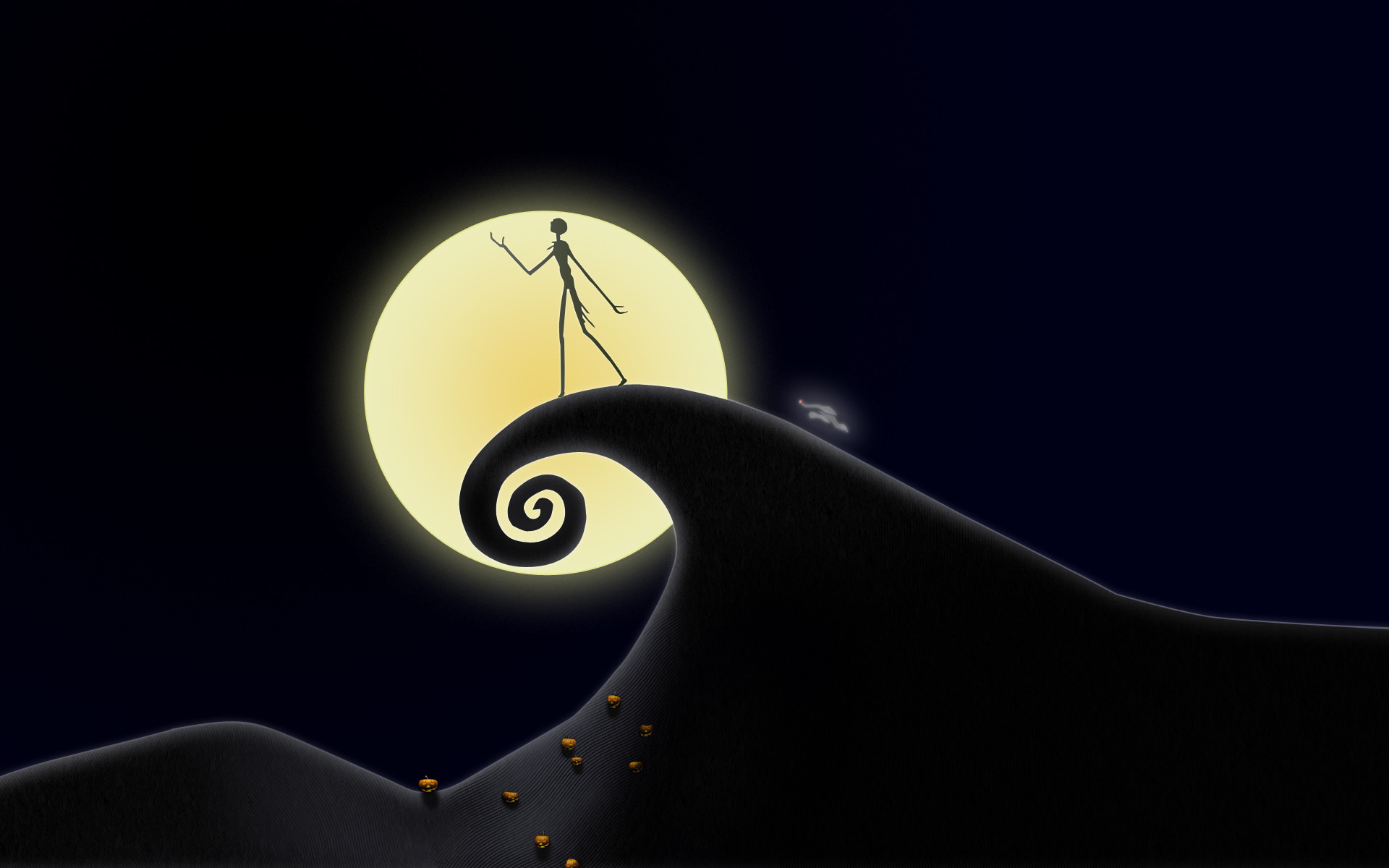 Jack And Sally Wallpaper Hd Nightmare Before Christmas Hd Wallpaper 75 Images