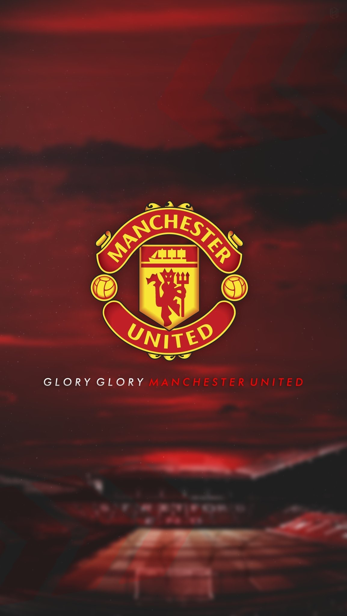 Arsenal Iphone Wallpaper Hd Manchester United Wallpaper 2018 71 Images