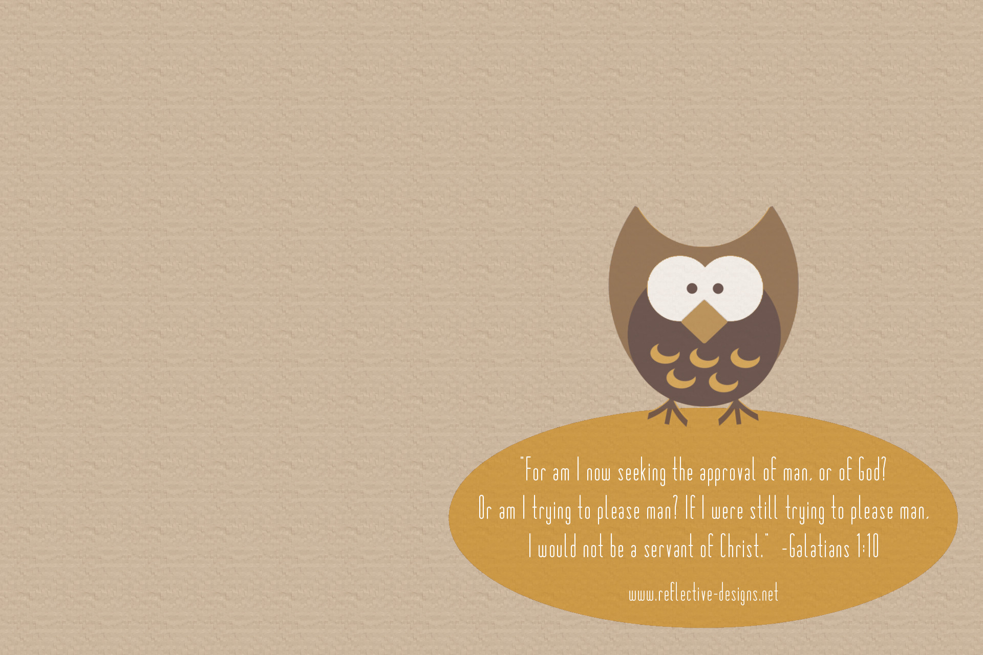 Scripture Quotes Desktop Wallpaper Cute Owl Wallpapers 65 Images