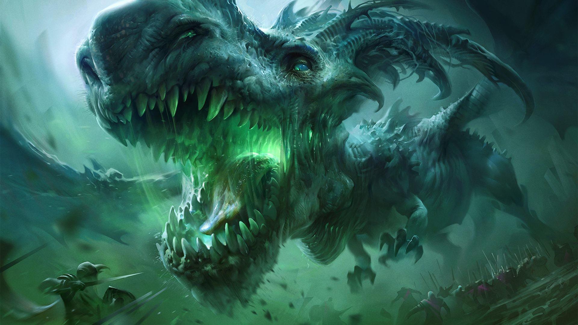 Fantasy Forest 3d Live Wallpaper Green Dragon Wallpaper 71 Images