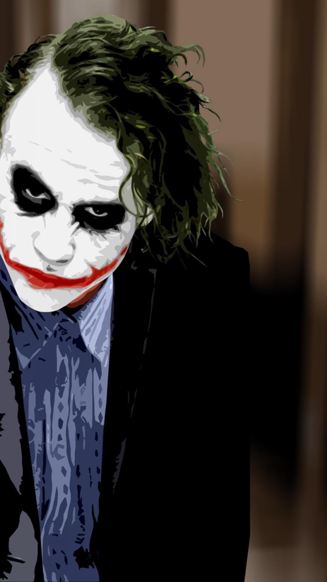 Batman Joker Quotes Mobile Wallpaper Heath Ledger Joker Wallpaper 74 Images