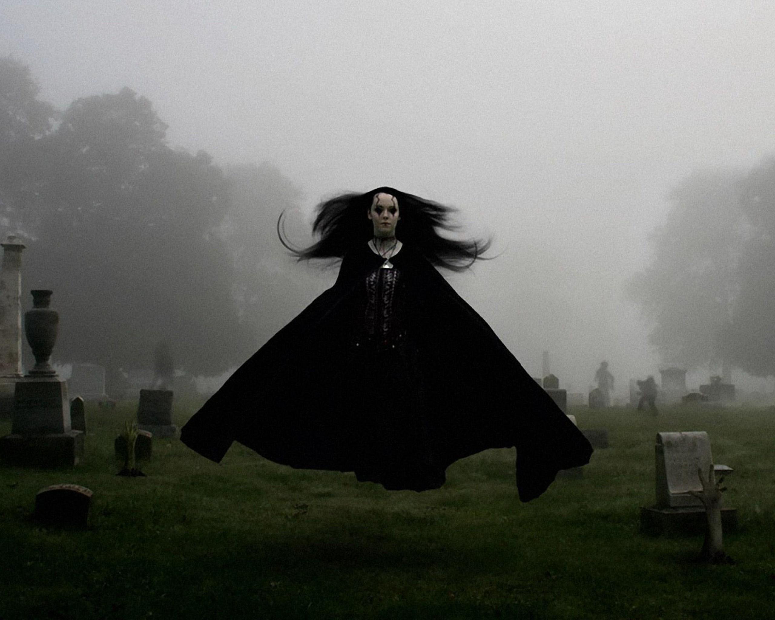 Gothic Girl Wallpaper Fantasy Creepy Graveyard Wallpaper 64 Images
