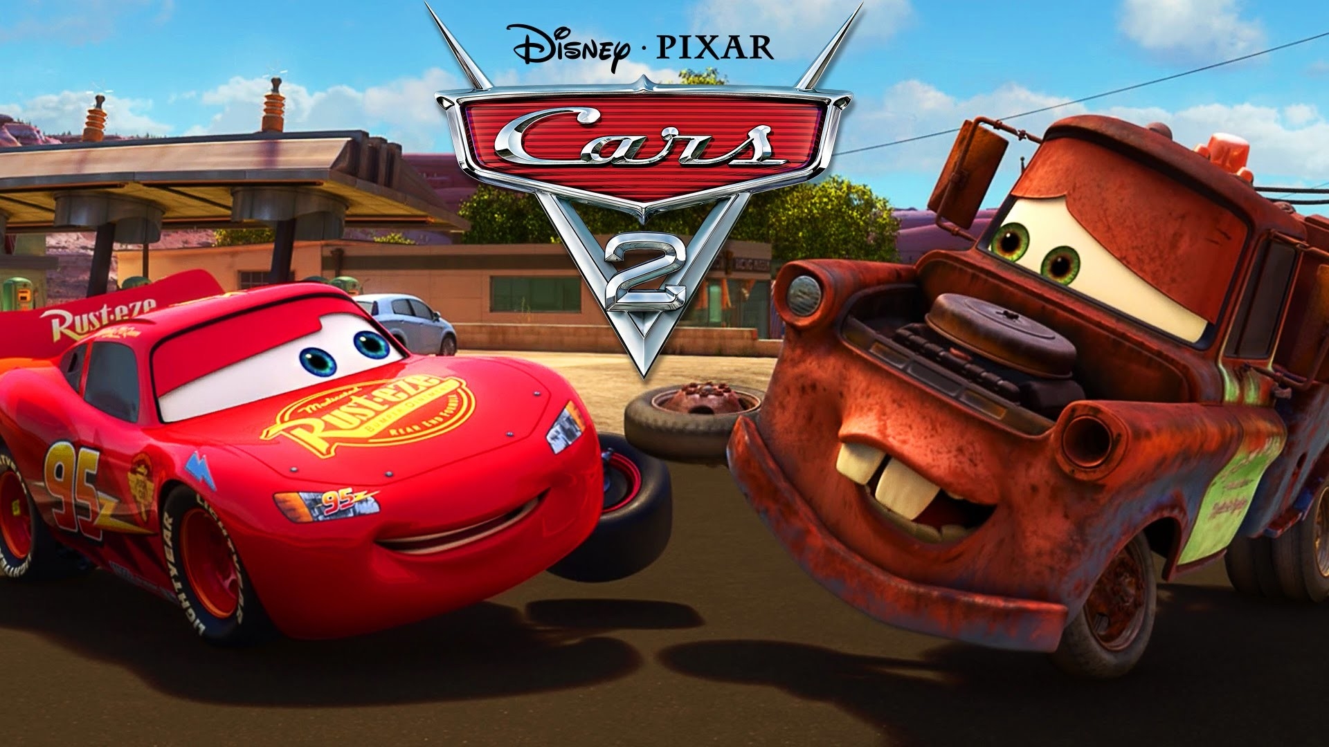 Tow Mater Cars Movie Wallpaper 1920x1200 Lighting Mcqueen Wallpaper 64 Images