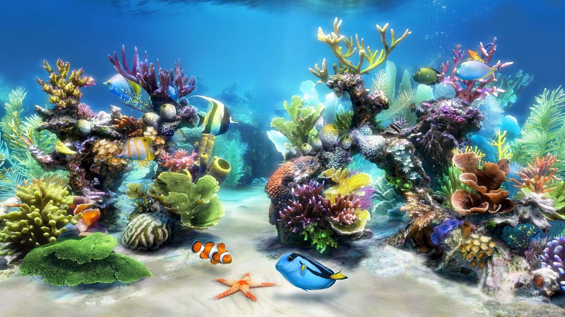 Desktop Aquarium 3d Live Wallpaper On Imac Aquarium Live Wallpaper Windows 10 55 Images