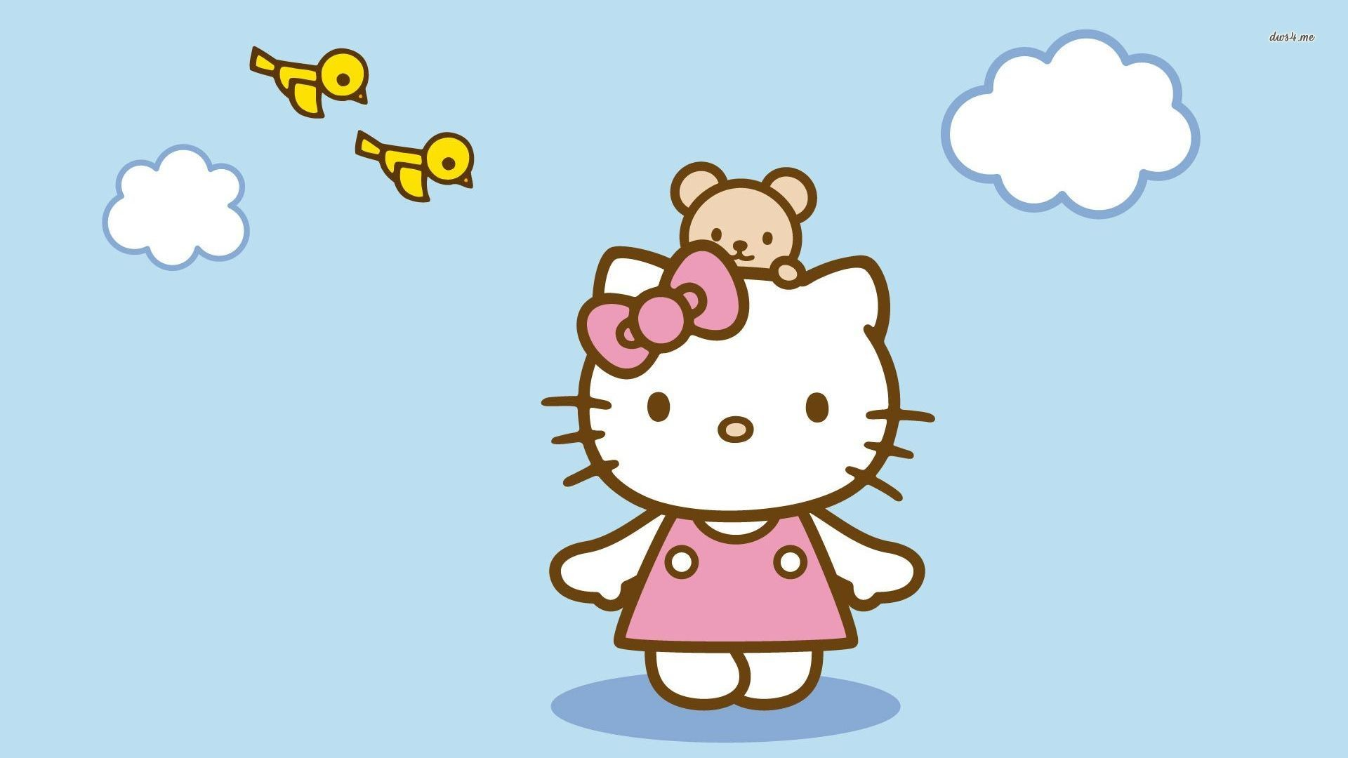 Cute My Melody Wallpaper Baby Hello Kitty Wallpaper 40 Images