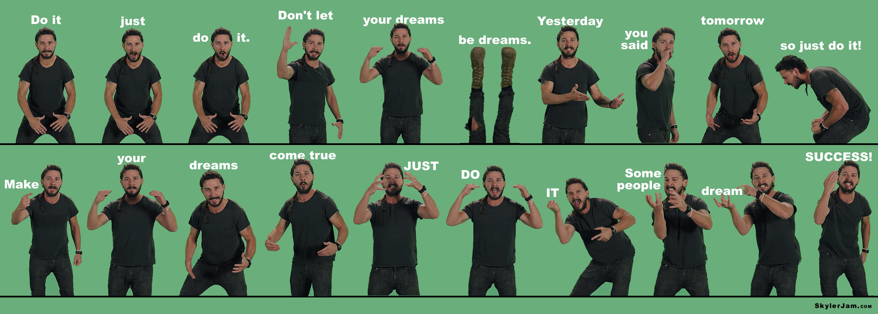 Just Do It Quote Wallpaper Shia Shia Labeouf Just Do It Wallpaper 69 Images
