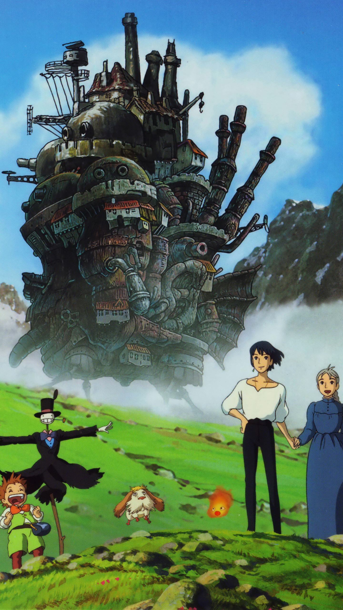 Howls Moving Castle Hd Wallpaper Howls Moving Castle Hd Wallpaper 69 Images