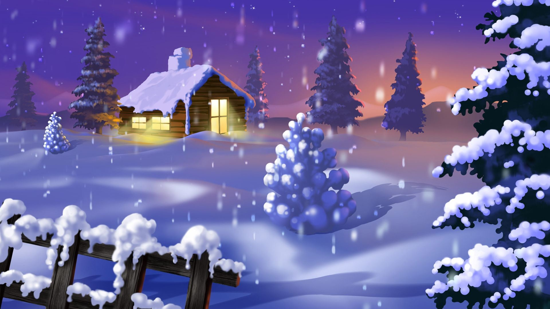 Falling Snow Live Wallpaper For Iphone Winter Wonderland Background 44 Images