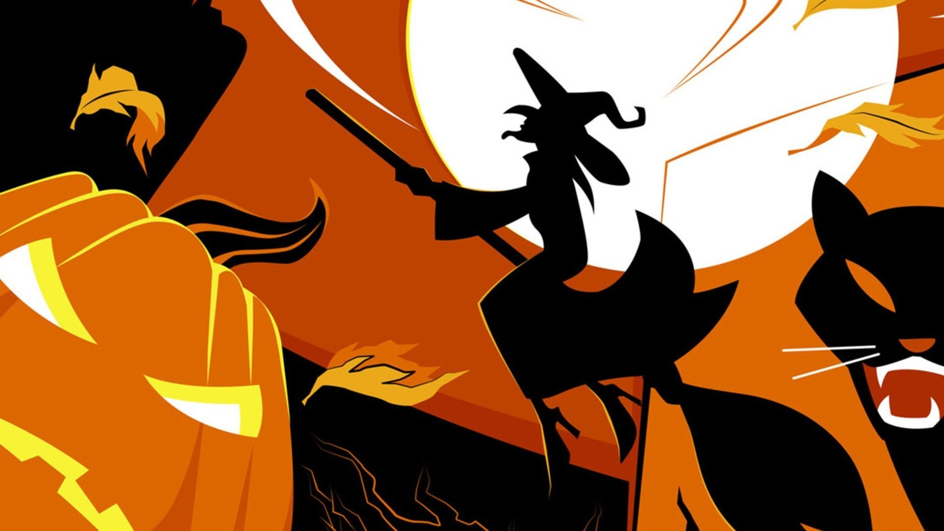 Creepy Cute Iphone Wallpaper Halloween Witch Wallpapers 58 Images