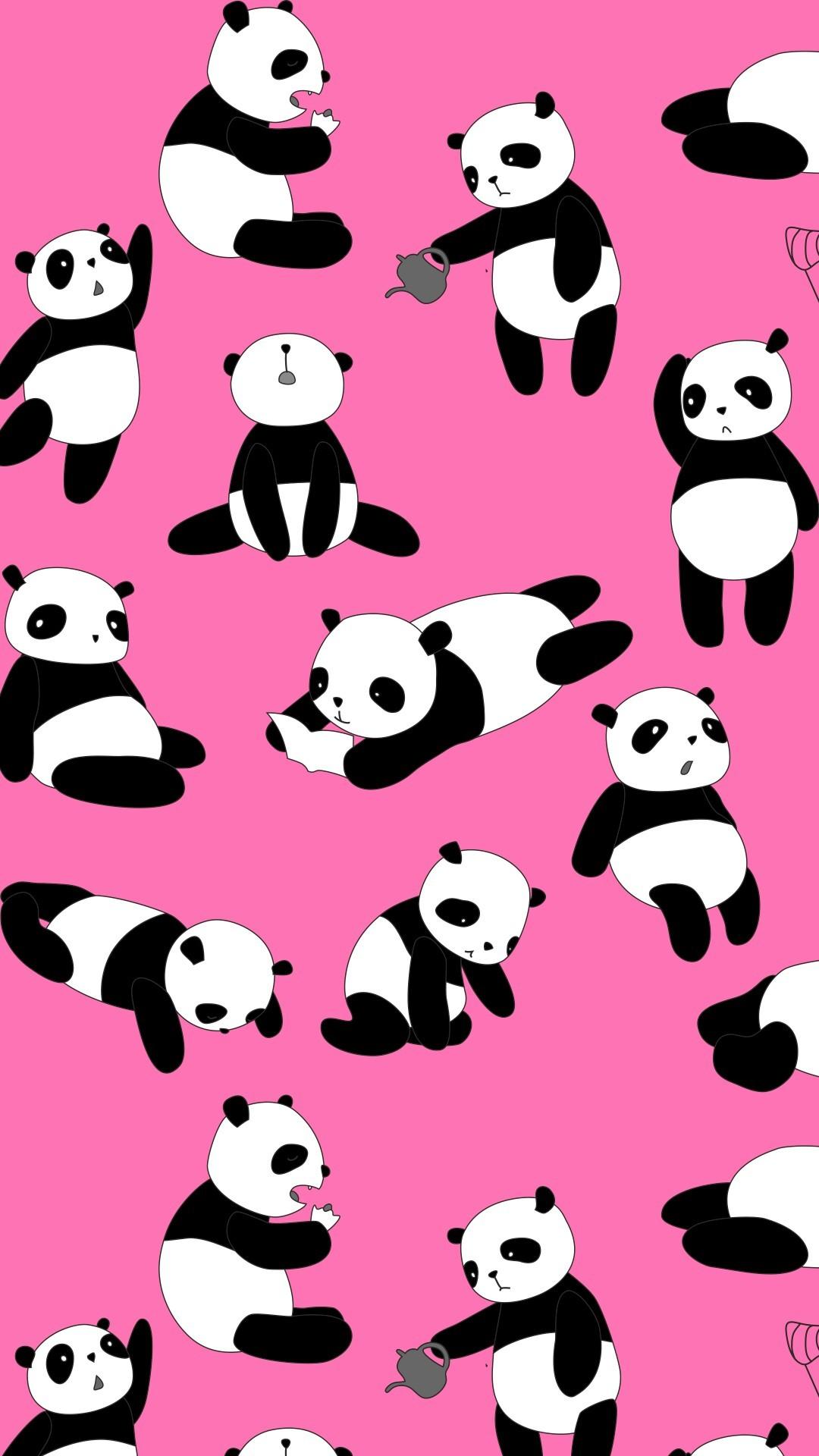 Cute Girly Wallpapers For Iphone 6 Plus Panda Iphone Wallpaper 82 Images