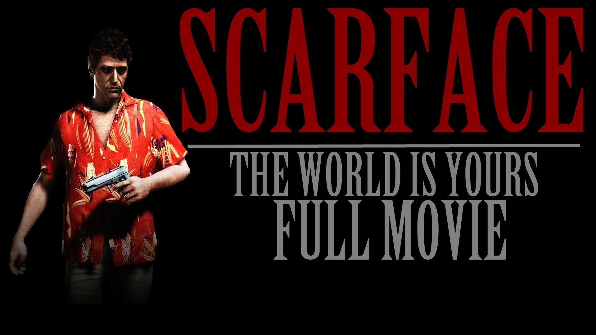 Patch Scarface The World Is
