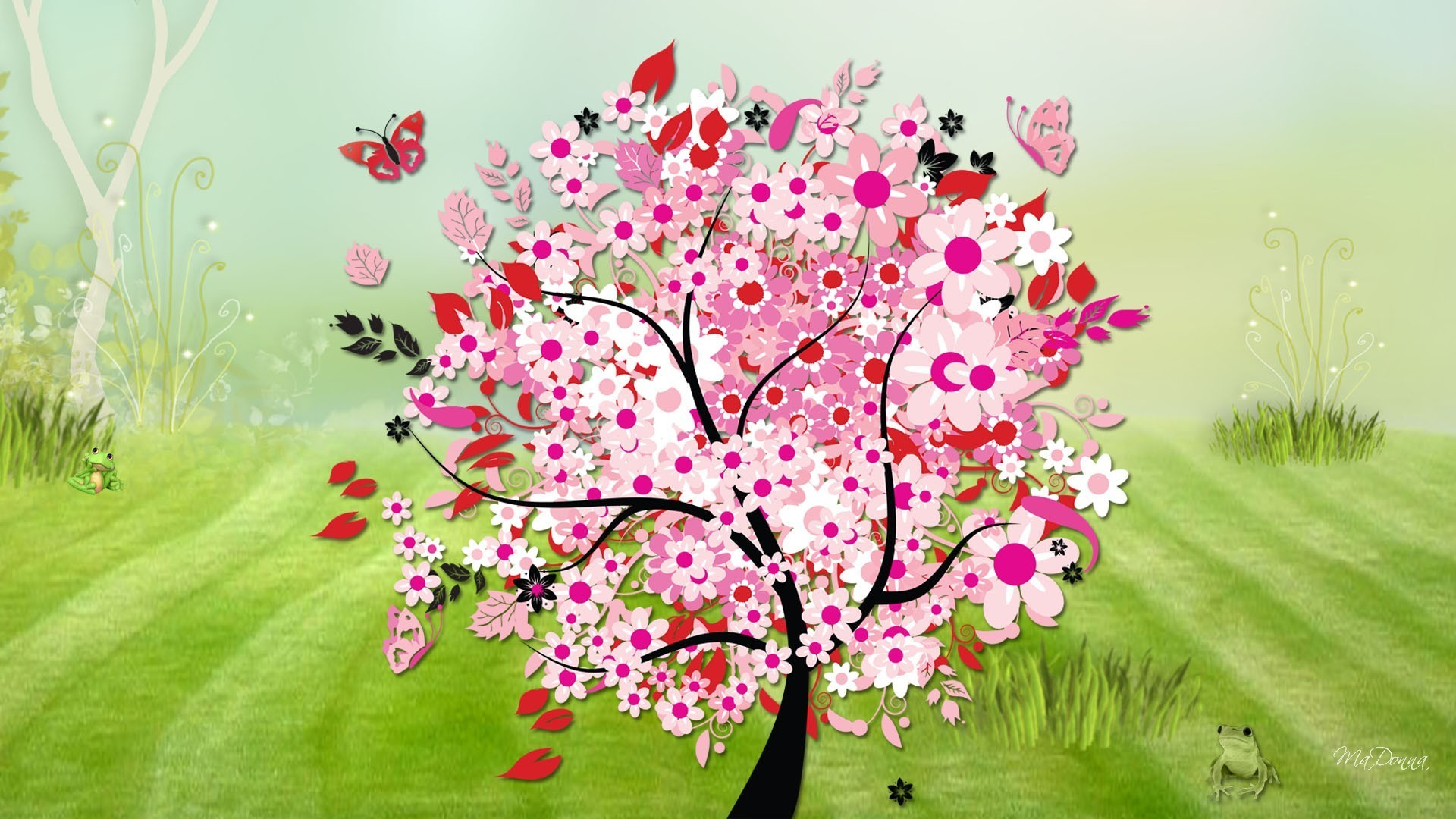 Lady Butterfly Hd Wallpaper Abstract Spring Wallpaper 47 Images