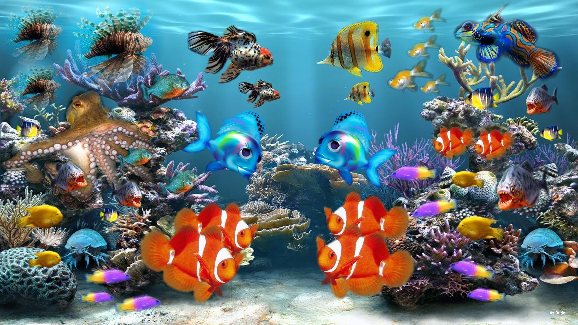 Download Fish Tank 3d Live Wallpaper 3d Aquarium Wallpaper 52 Images