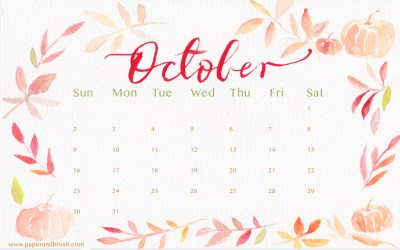 Desktop Wallpaper Calendars October 2018 (68+ images)
