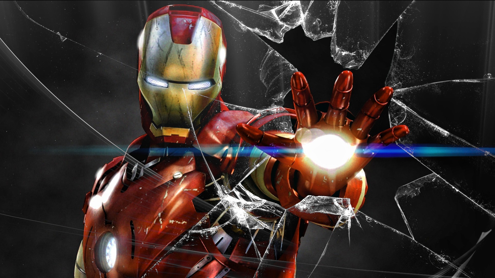 Cars 2 Cartoon Wallpaper Iron Man Broken Screen Wallpaper 52 Images