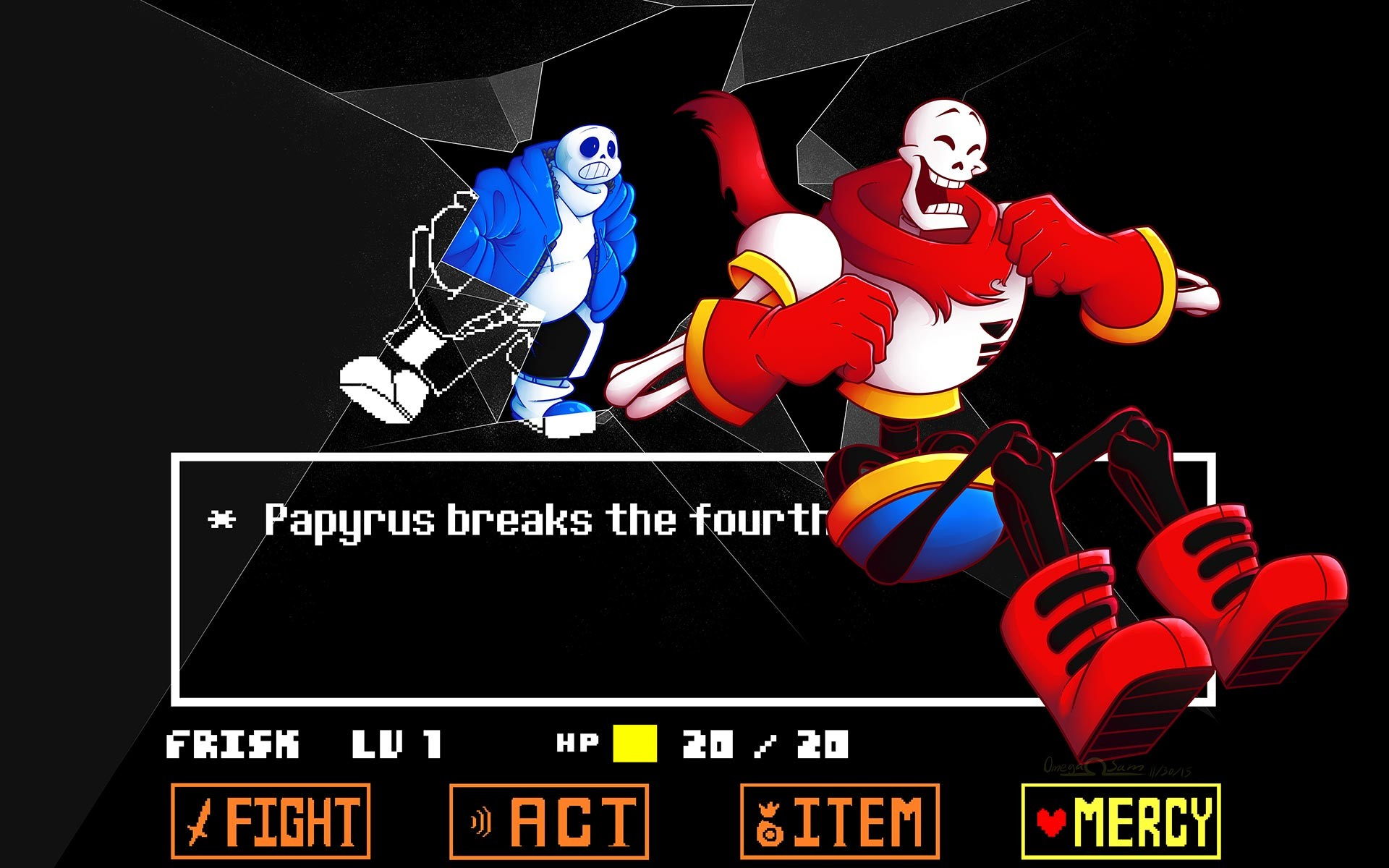 Claymore Wallpaper Hd Undertale Sans And Papyrus Wallpaper 82 Images