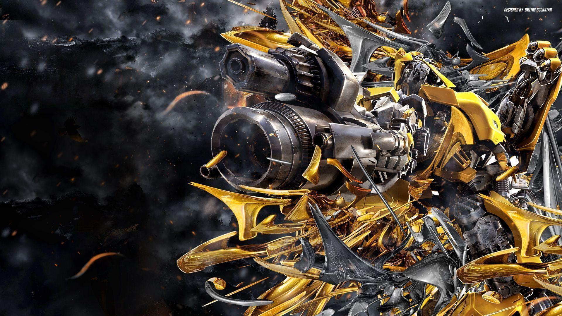 Transformers Wallpaper Hd Widescreen Bumblebee 2018 Wallpaper Hd 66 Images