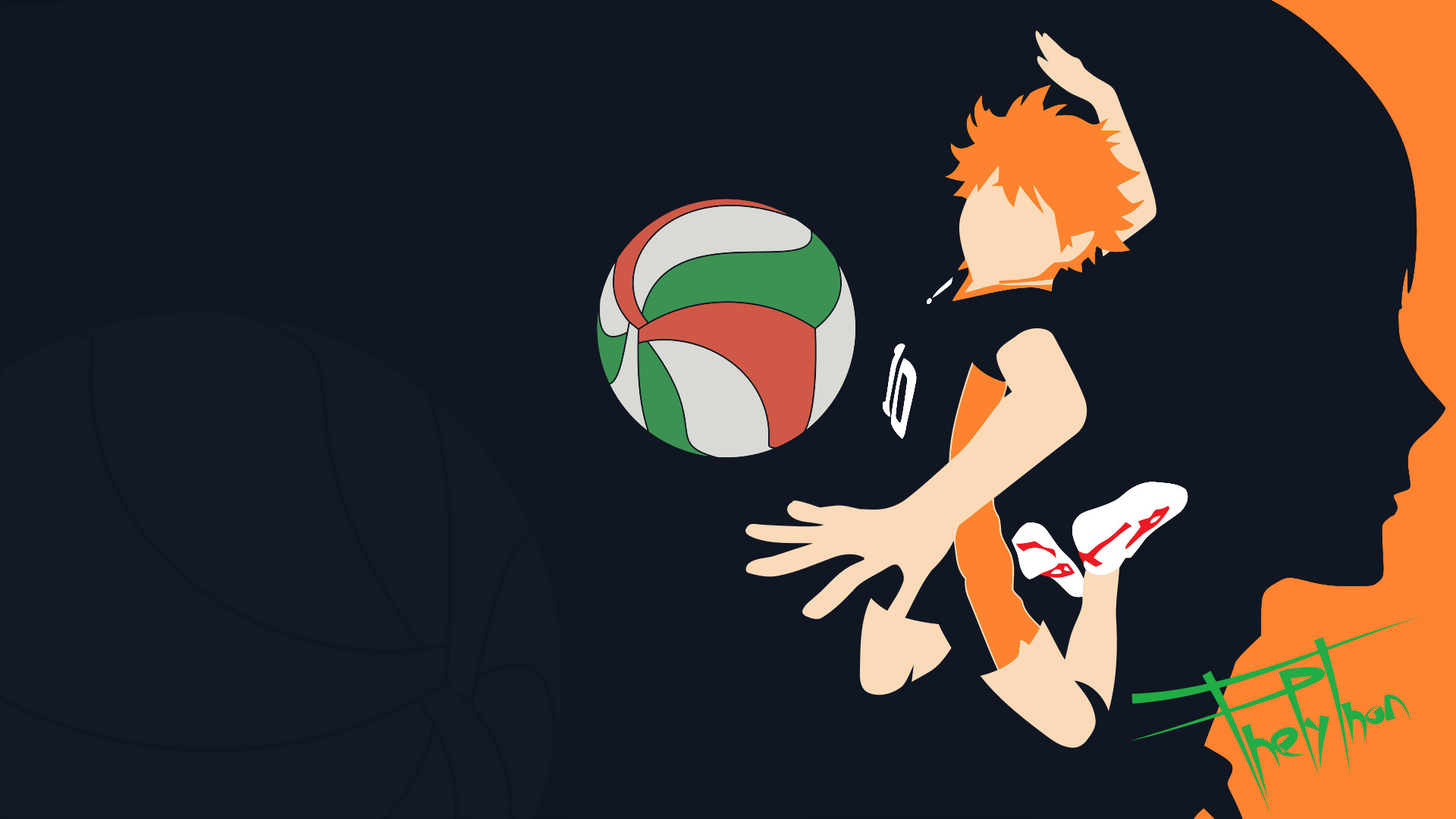Volleyball Wallpaper Iphone Haikyu Wallpapers 56 Images