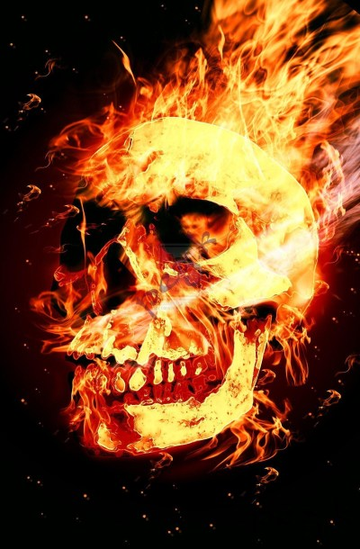 Skull Fire Wallpaper (61+ images)