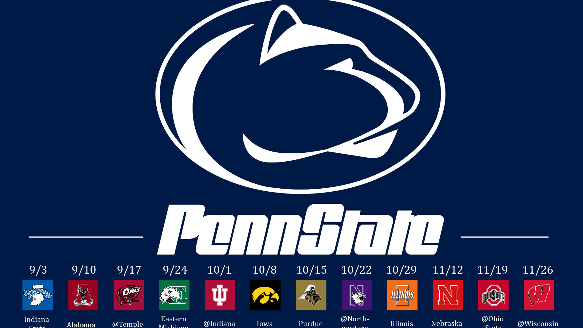Iphone X Wallpaper Official Penn State Iphone Wallpaper 49 Images