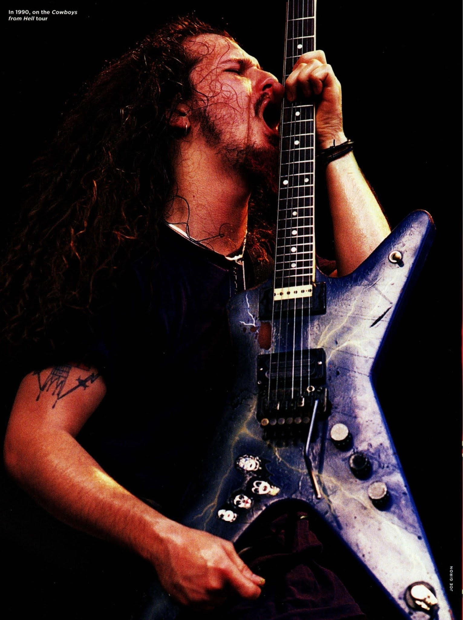 Guitar Hd Wallpapers With Quotes Dimebag Darrell Wallpaper 50 Images