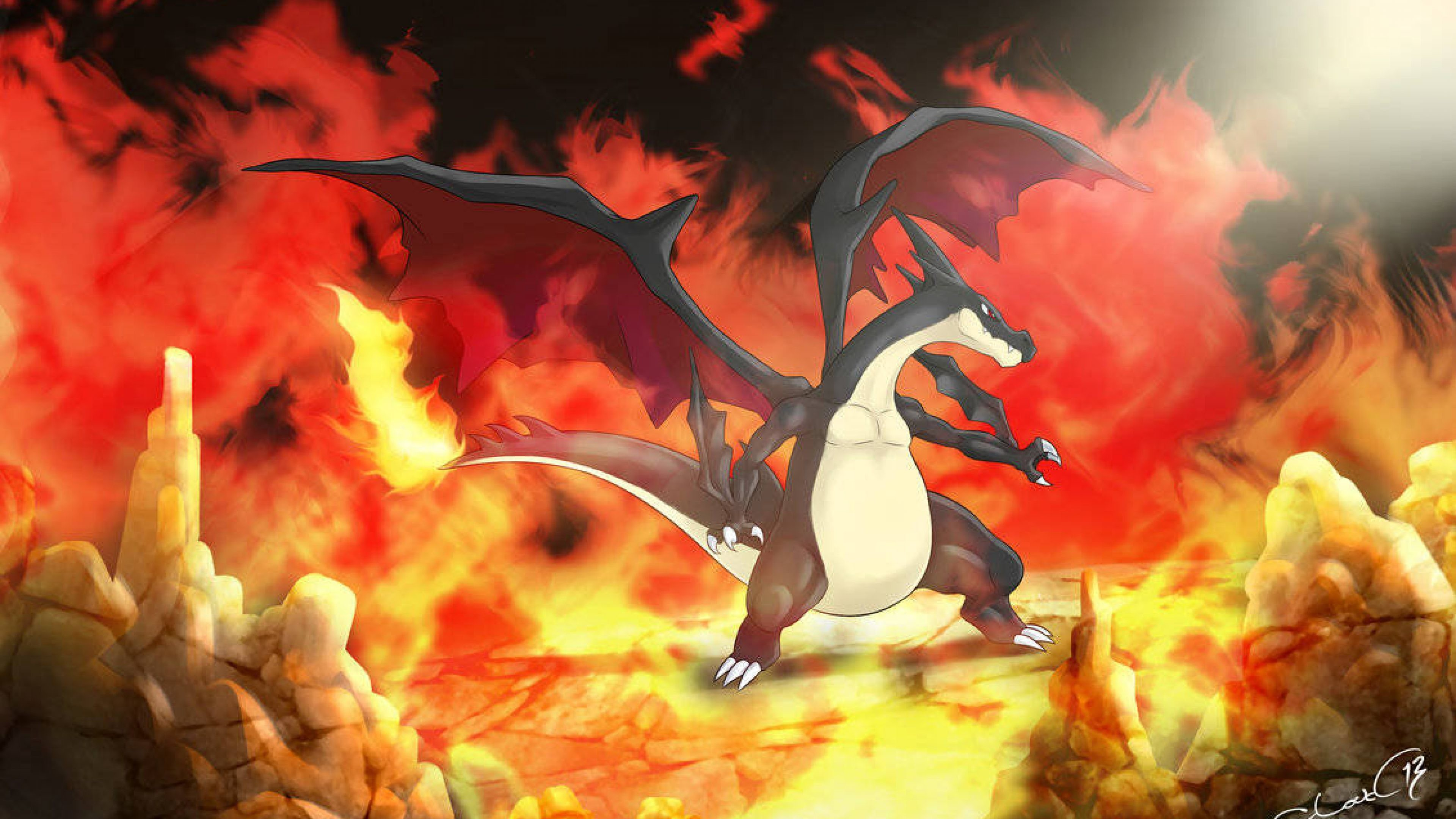 Sick Anime Wallpapers Charizard Phone Wallpaper 76 Images