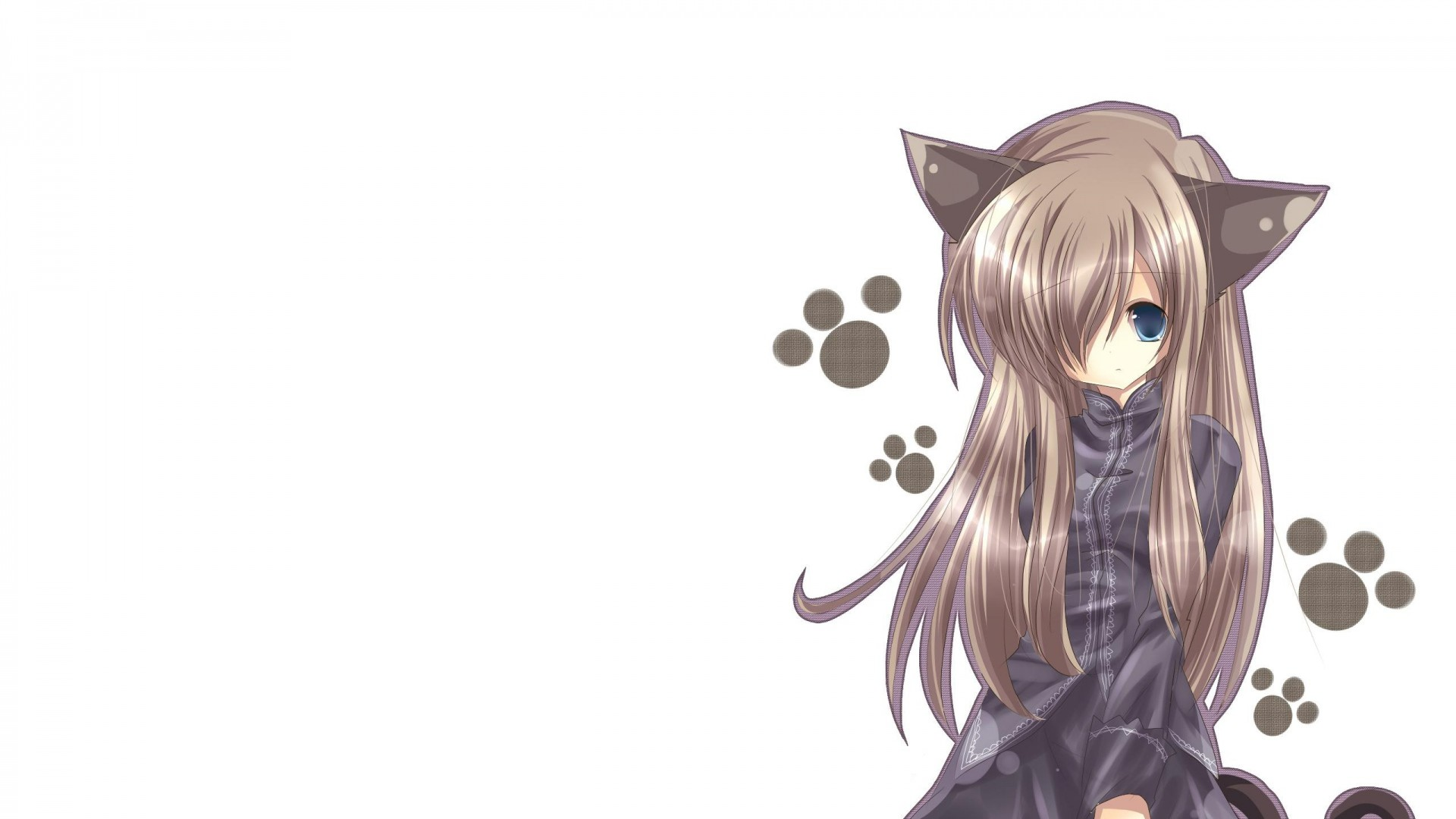 Anime Girl With Cat Ears Wallpaper Anime Girl Hd Wallpaper 1080p 83 Images