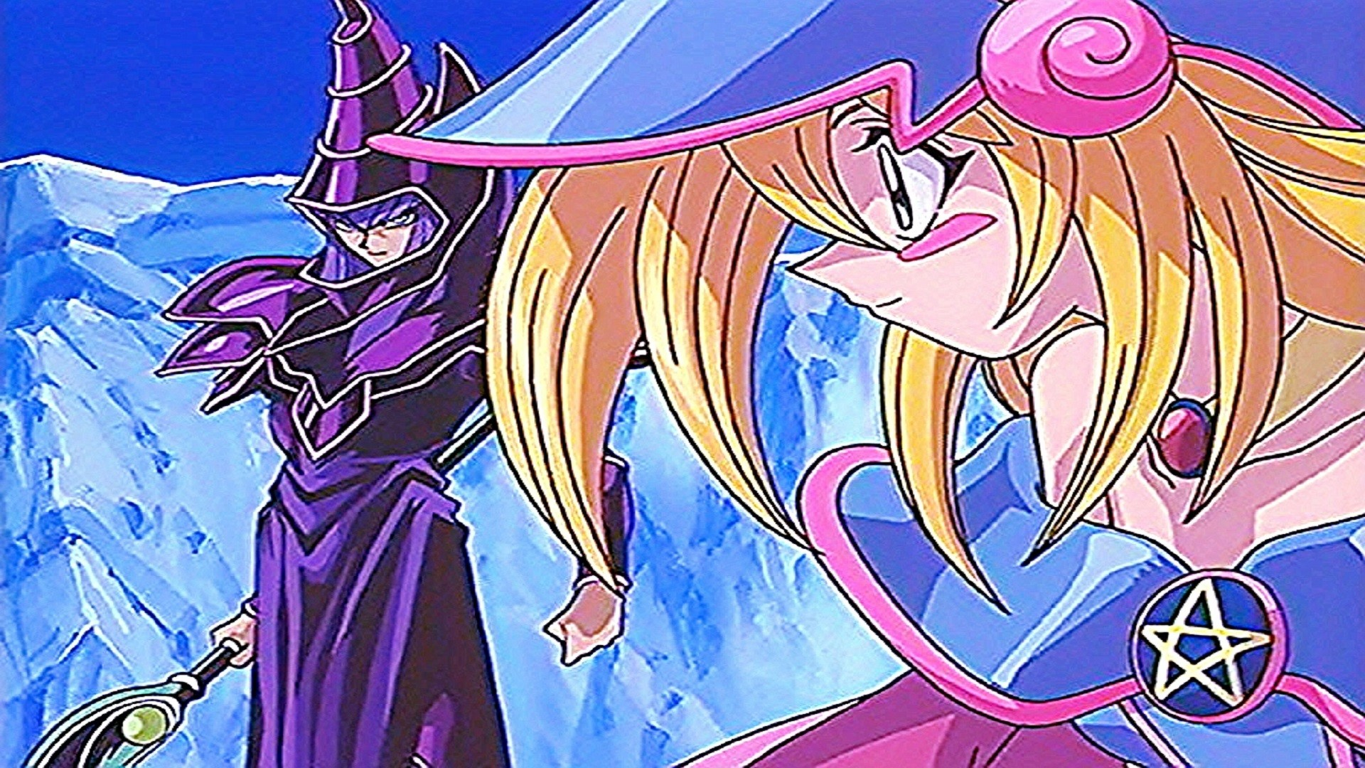 Gagaga Girl Wallpaper Yu Gi Oh Dark Magician Wallpaper 63 Images