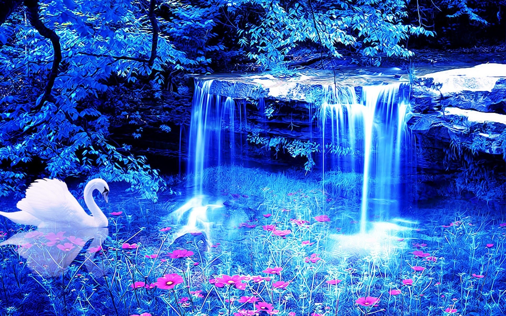 Spring 3d Live Wallpaper Waterfall Screensavers Wallpapers 47 Images
