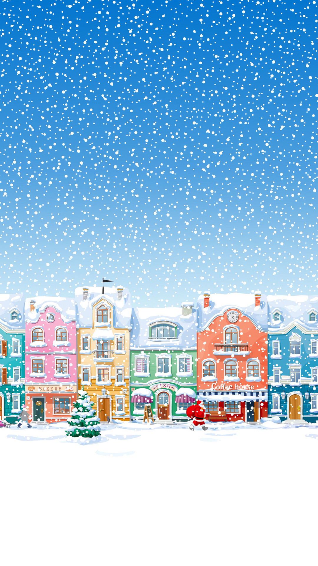 Cute Animated Wallpapers For Cell Phones Christmas Wallpaper And Screensavers 60 Images