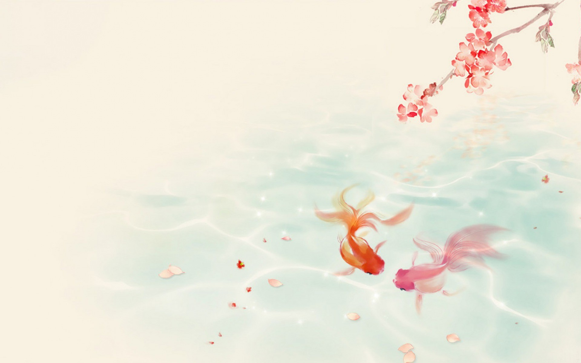 Cat Girl Anime Live Wallpaper Hd Koi Fish Wallpaper 54 Images