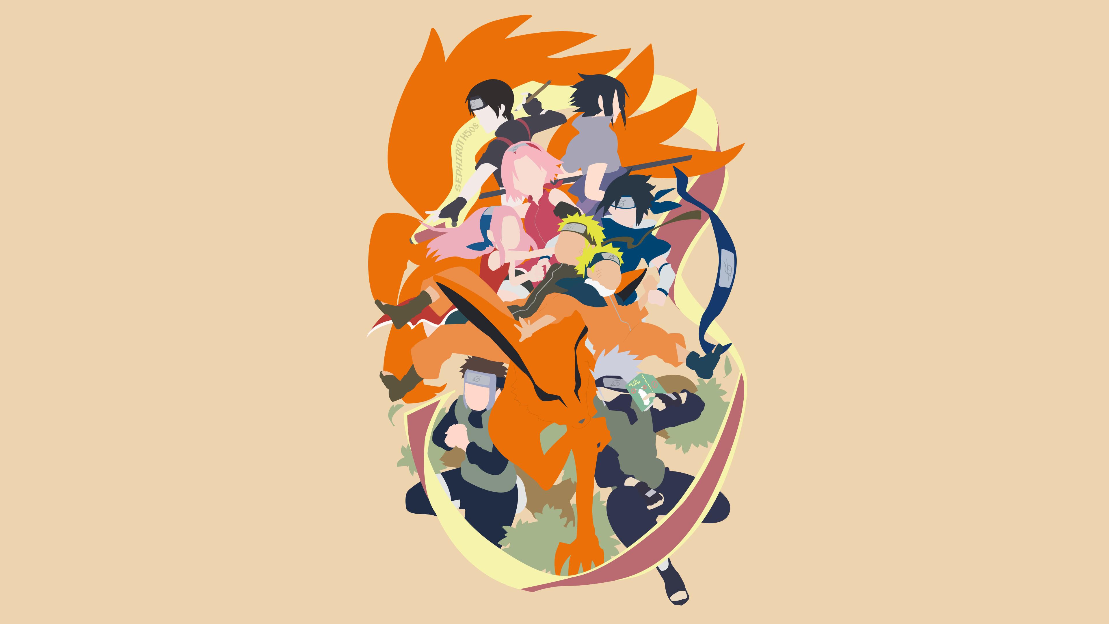 Ninja Anime Wallpaper Naruto And Kurama Wallpapers 73 Images