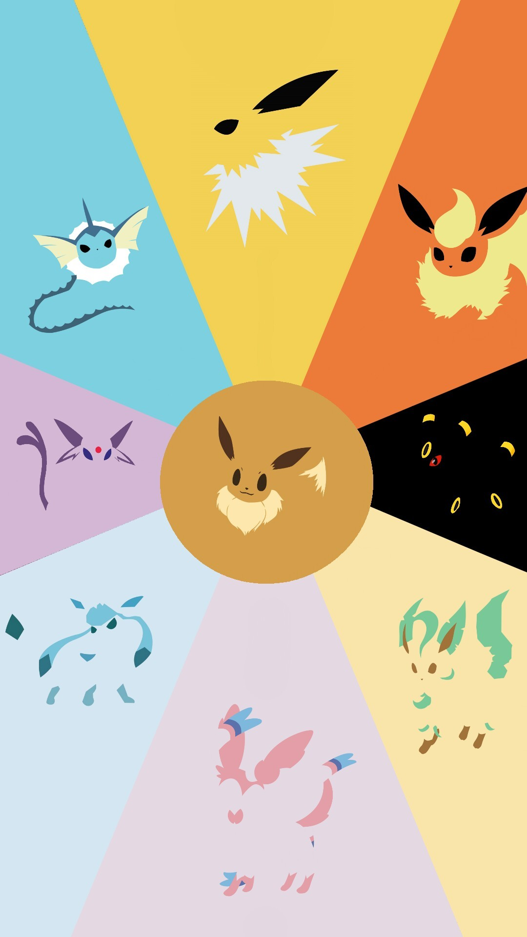 Cute Halloween Wallpapers For Android Cute Eevee Evolutions Wallpaper 64 Images